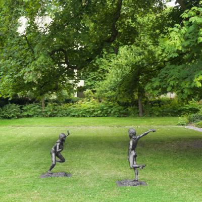 Garden - Sculpture by Sean Landers